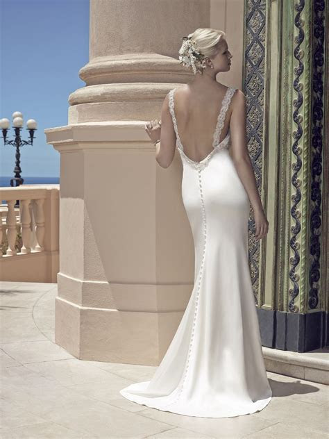 Top Ten Low Back Wedding Dresses From Casablanca Bridal