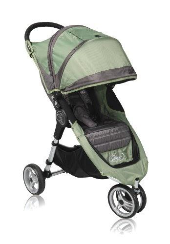 Baby Jogger 2010 City Mini Single Stroller, Green/Grey ...
