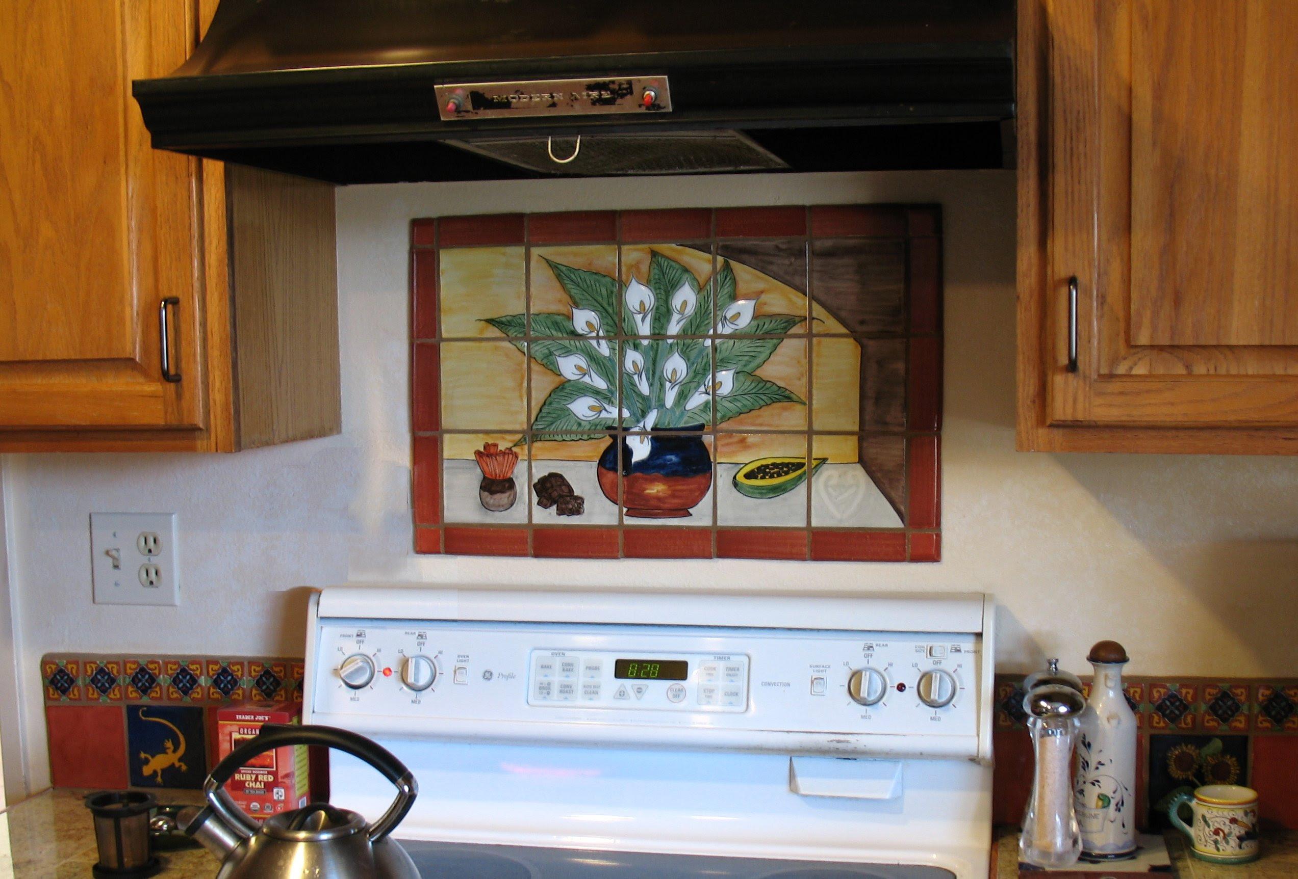Mexican Tile Kitchen Backsplash Modern Home Design And Decor