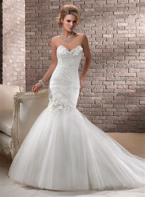 Maggie Sottero Wedding Dresses   Gowns, Trumpet wedding