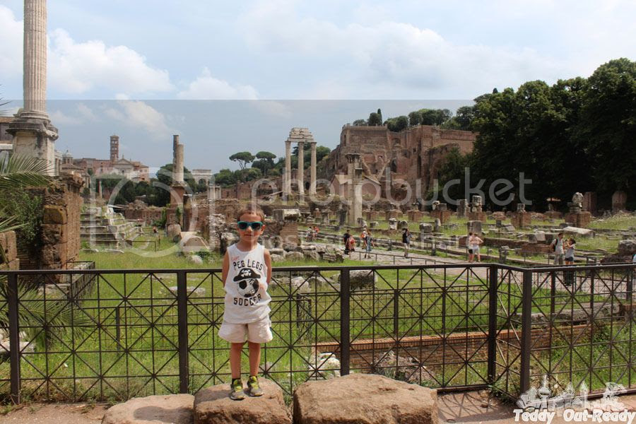 Roman Forum Teddy
