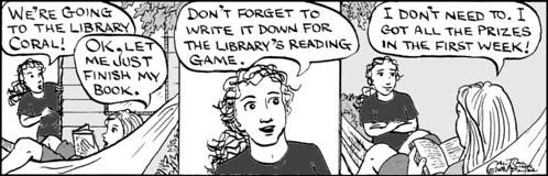 Home Spun comic strip #245