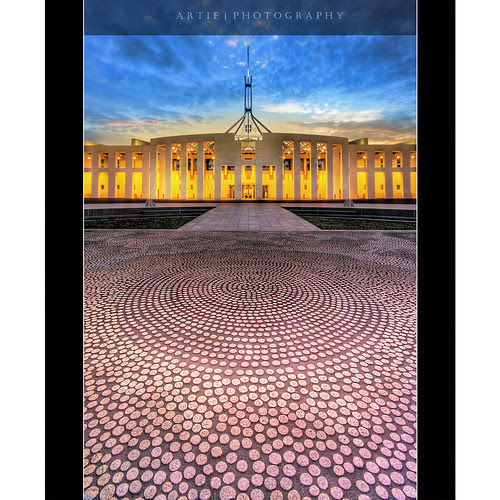 The Aboriginal Art of the Parliament House, Canberra :: HDR por Artie | Photography :: No need 2 comment :)