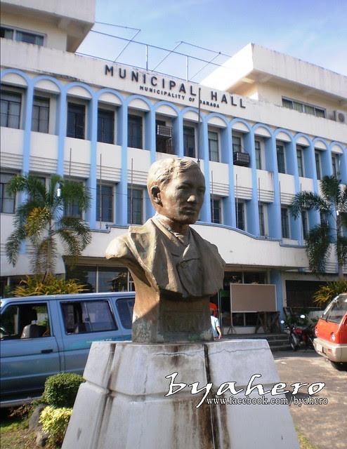 Rizal Monument in Daraga, Albay