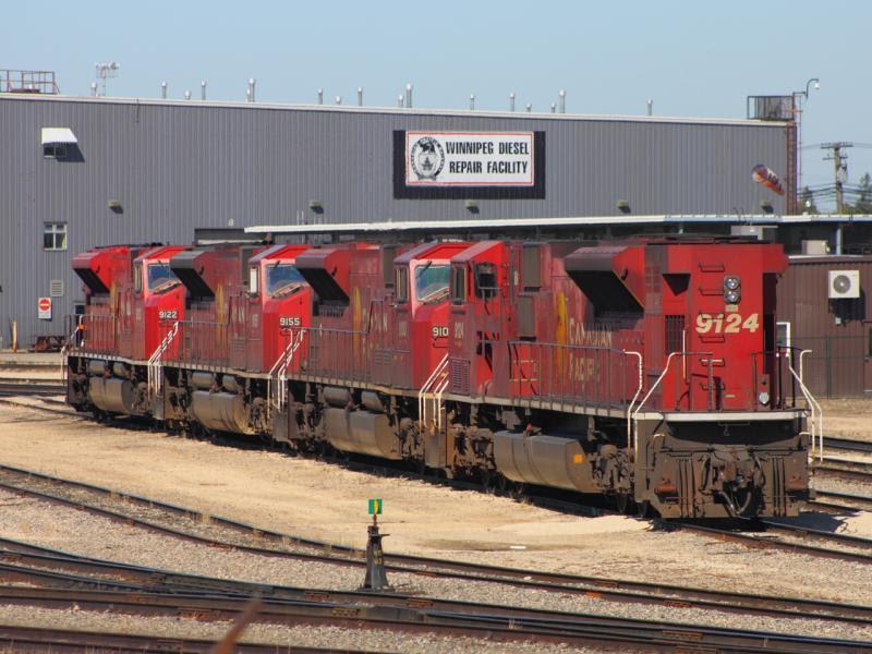 CP 9124 in Winnipeg