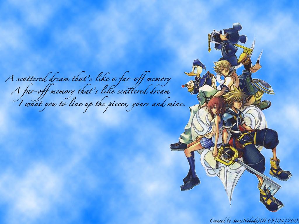Kh2 Logo Kingdom Hearts Wallpaper 4026807 Fanpop
