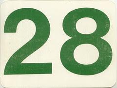 calendrier  28