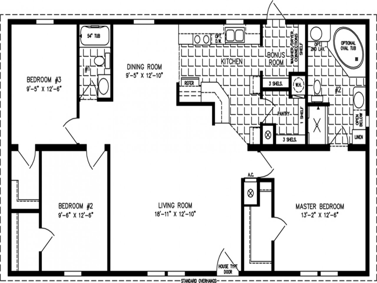 1200 Sq FT Home Floor Plans 4000 Sq FT Homes house plans