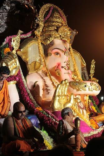 GSB Seva Mandal Ganesha 5 Day Immersion .. by firoze shakir photographerno1