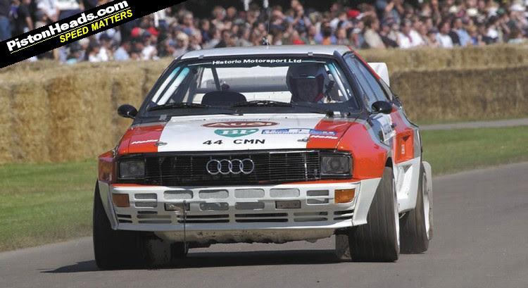 1983 Audi Sport Quattro Rally