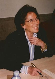 Françoise Giroud en 1998.