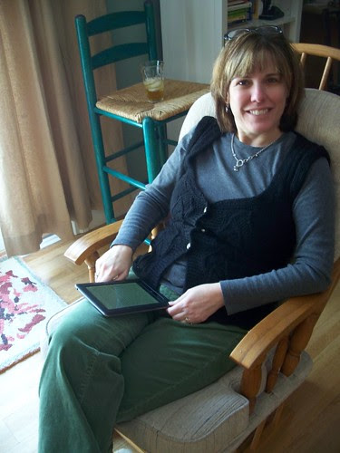 Mum in her Christmas sweater
