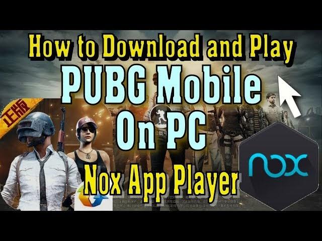 Pubg Mobile On Pc Nox Player | Pubg Mobile Hack On Phoenix Os