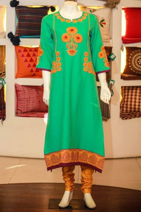 Casual-Lawn-Womens-Girls-Kurta-Kurti-Collection-2013-by-Thredz-for-Ladies-8