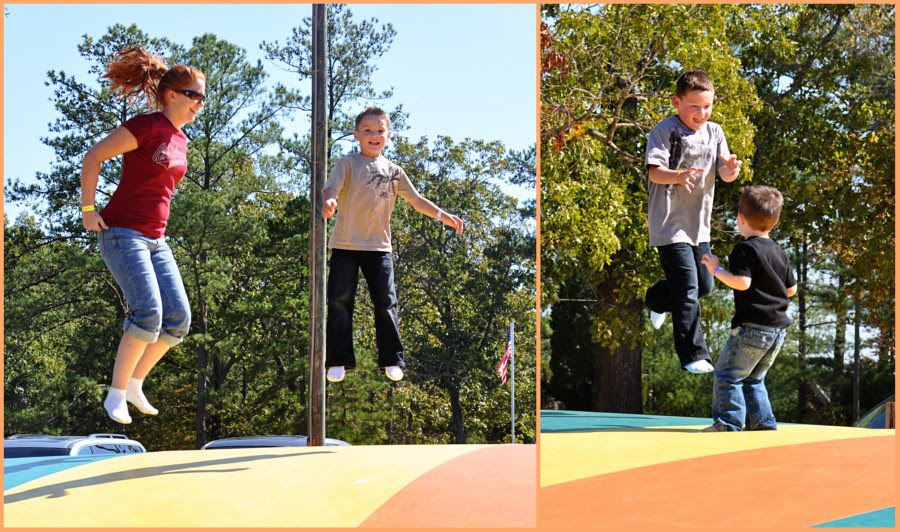 We can jump high!