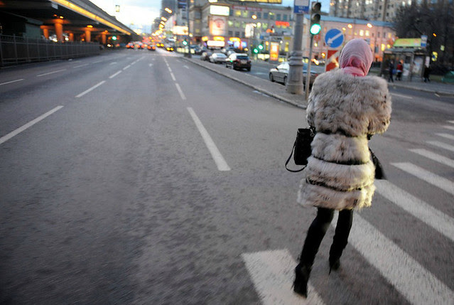 Fur in Moscow - via nytimes.com 2