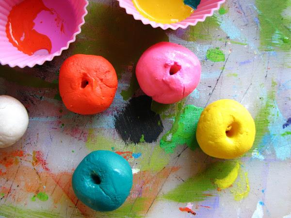 Gluten-Free Play Clay Beads | Make: