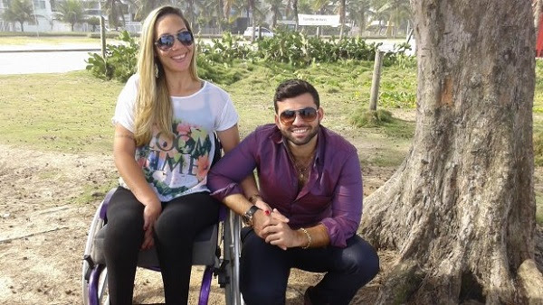 Daniele Fernandes e Sávollo Lopes