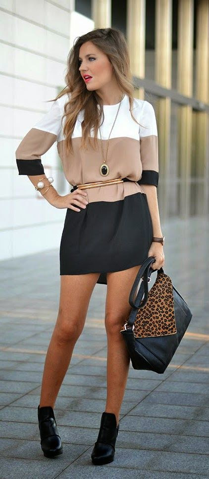 Daily New Fashion : WHITE COFFE BLACK