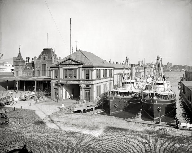 Wall Street Ferry: 1905