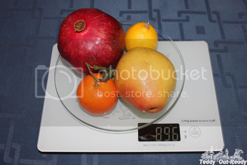 NutriCrystal Wireless Smart Food Scale