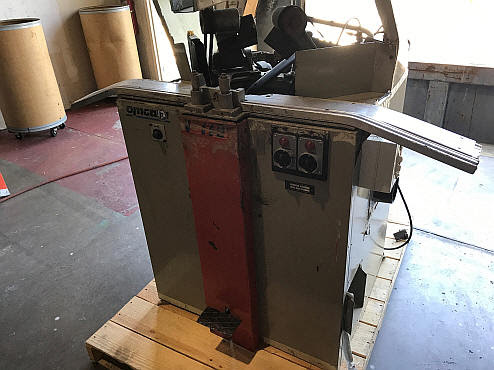 Omega Double Miter Saw Brevettato Picture Framing Equipment Inc