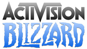 Logo of Activision Blizzard.