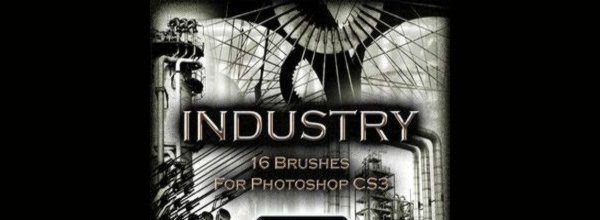 Industry - Photoshop Brushes