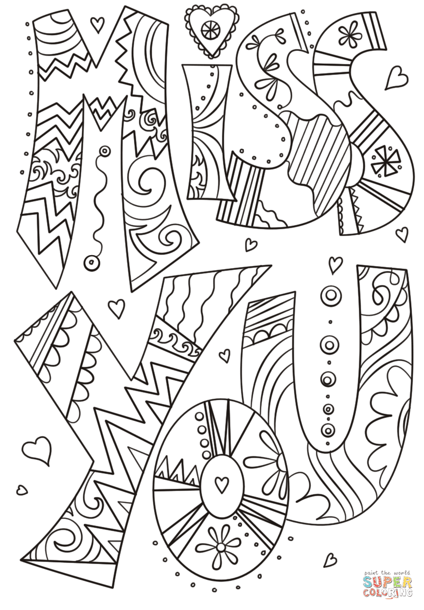 We Will Miss You Coloring Pages Love Quotes