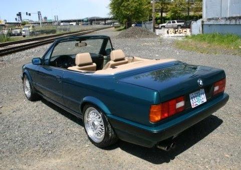 1992 BMW E30 Convertible M30 Swap Hot Rod Cabrio For Sale Rear