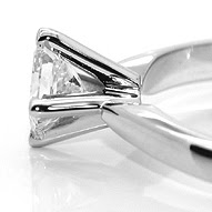 High Princess Cut Setting