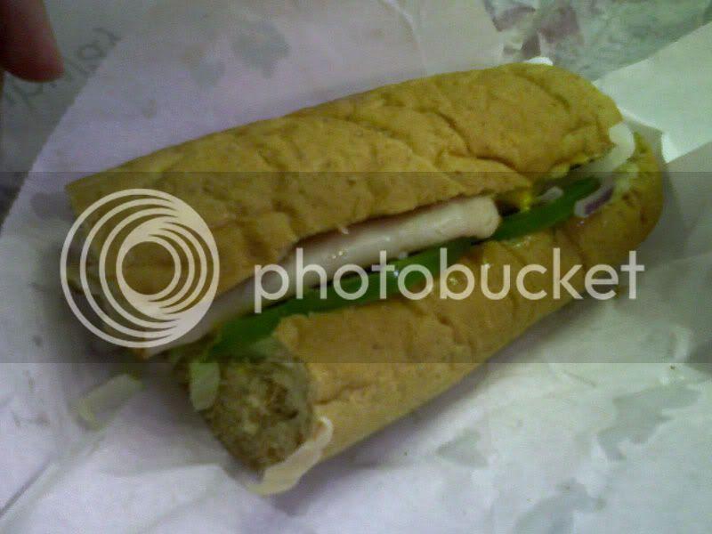 Turkey Sandwich from UCF Subway