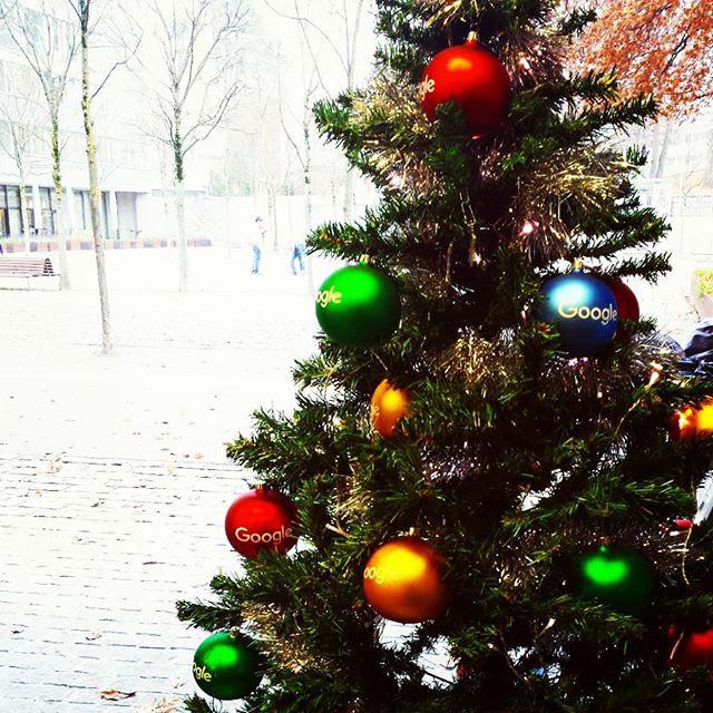Google Branded Christmas Tree Ornaments