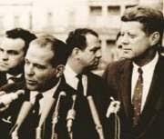 Joao Goulart y John F. Kennedy