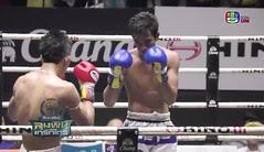 เพชรกัณทัศน์ Vs ยามีน ศึกมวยไทยลุมพินีเกริกไกร 2/3 23 เมษายน 2559 Muaythai