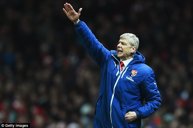 Wenger is hoping to take the Gunners back into the top four with victory against Liverpool this weekend