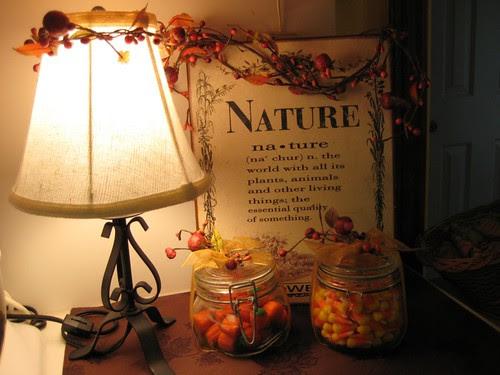 Autumn Kitchen Display