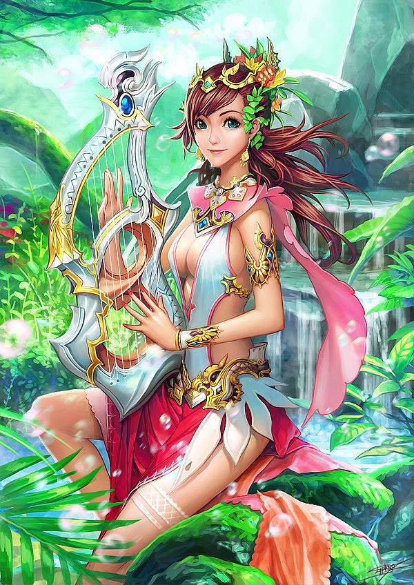 Fantasy Digital Paintings Natural song by gotgituey