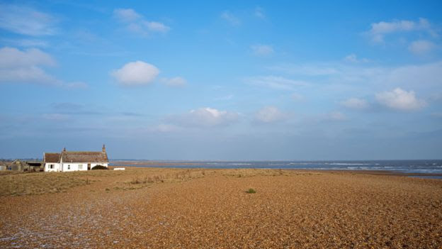 Bungalow in Shingle Street, Norfolk