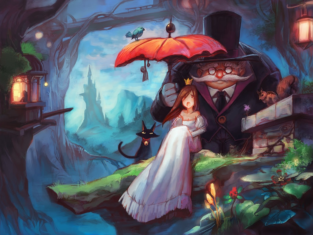 Fantasy Digital Paintings Princess by asuka111
