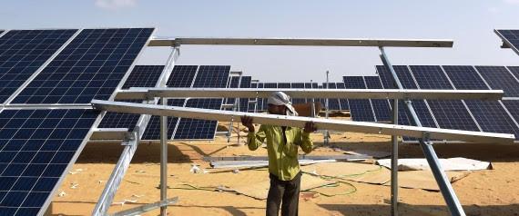 Énergie solaire inde
