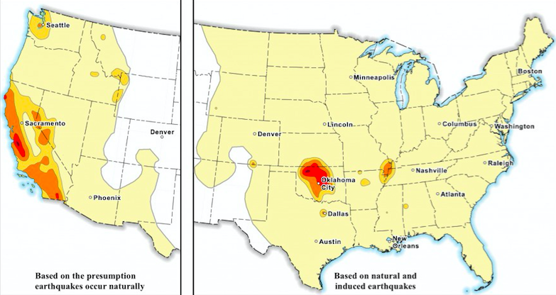 Human-Caused Earthquakes Are So Common That US Geologists Had to Change Their Maps