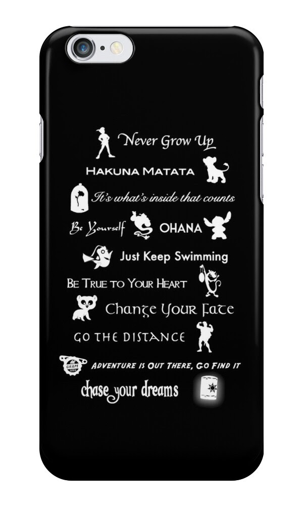 Iphone 6 Cases Disney Quotes. QuotesGram