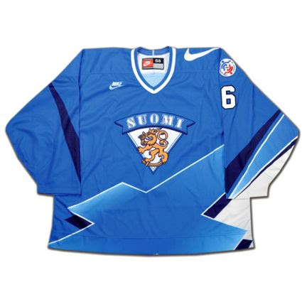 Finland 1996 jersey, Finland 1996 jersey
