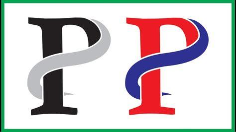 alphabetical logo design p corel draw tutorial youtube