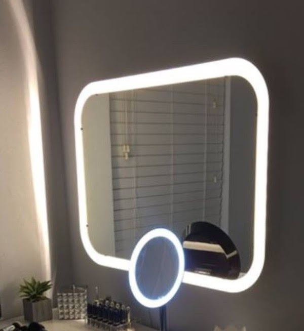 Home Accessory Makeup Mirror Mirror Double Mirror Led Light