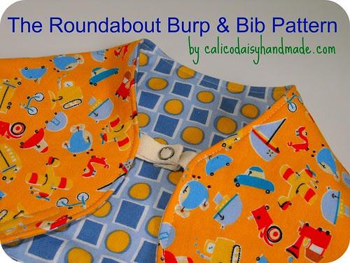 Roundabout Burp and Bib pattern