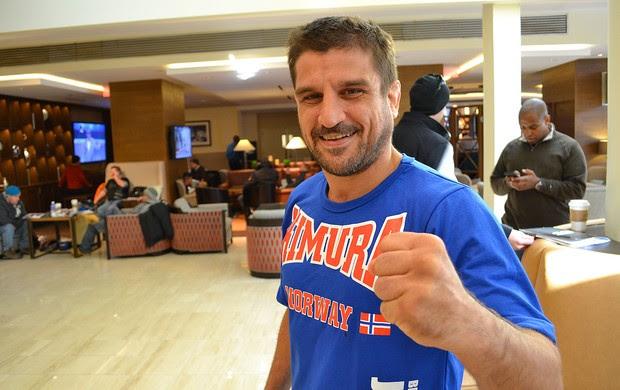Jair Lourenço UFC hotel (Foto: Ivan Raupp)