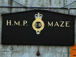 Maze Prison - Man escaped from prison in 1983