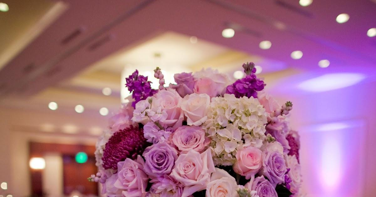 Pink And Purple Wedding - Wedding